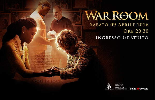 War Room 09 Arpile 2016 | Comunità Cristiana Evangelica Montesarchio