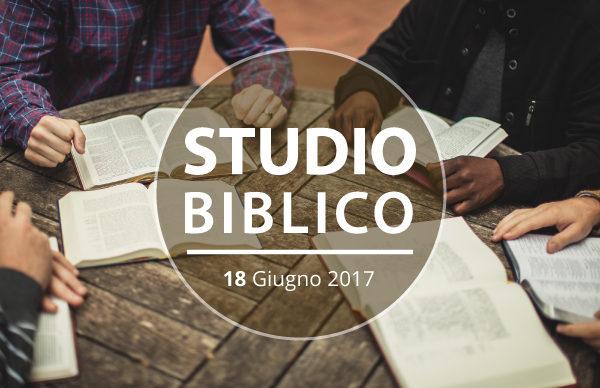 La santificazione | Studio Biblico 18 Giugno 2017 | Comunità Cristiana Evangelica Montesarchio